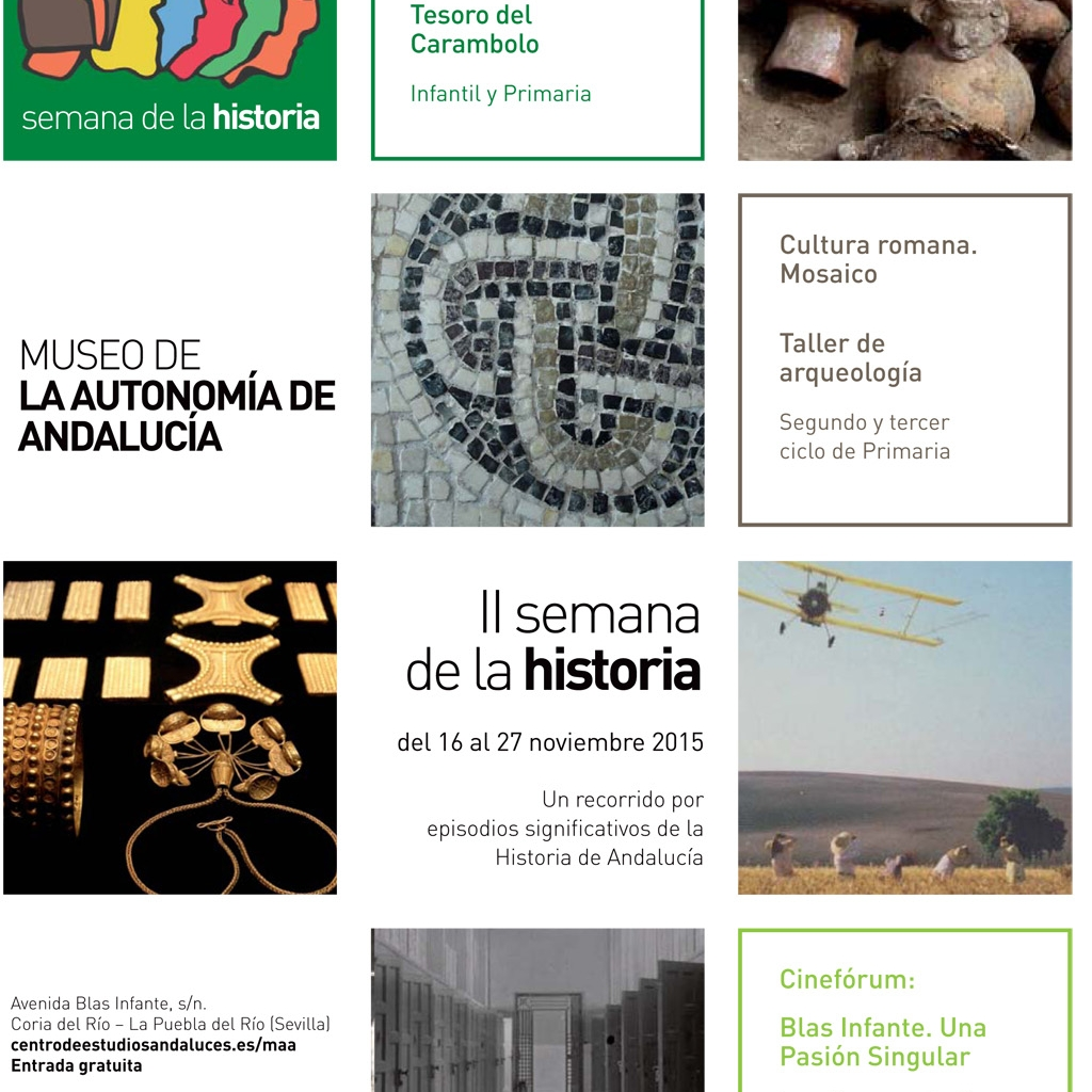II SEMANA DE LA HISTORIA Del 16 al 27 de noviembre de 2015