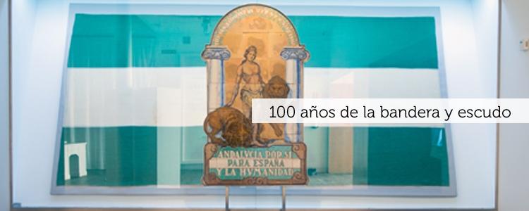100 años de la bandera y escudo