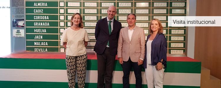 El consejero de la Presidencia visita el Museo de la Autonomía de Andalucía