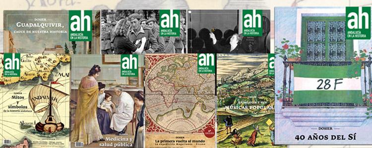 Acceso libre a todos los números de la revista 'Andalucía en la Historia'
