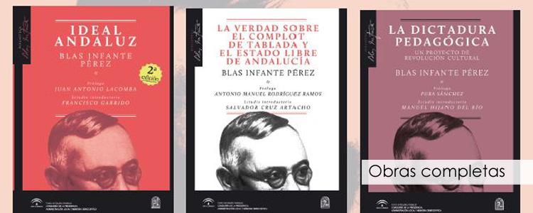 Una colección para rescatar las obras completas de Blas Infante