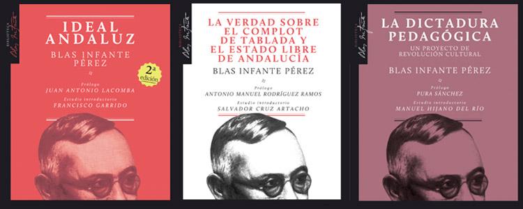 Tres libros fundamentales de Blas Infante en edición crítica en formato ePub
