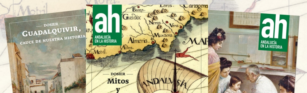 Disponibles para su descarga tres números de la revista Andalucía en la Historia
