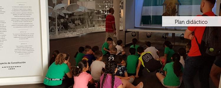 Plan didáctico y visitas al Museo de la Autonomía y la Casa de Blas Infante