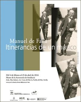 Manuel de Falla, itinerancias de un músico