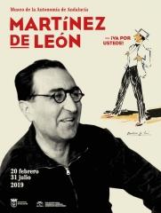 Cartel de la exposición Martínez de León ¡Va por ustede!