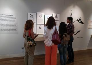 Último mes para visitar la exposición ¡Va por Ustede! sobre el dibujante Martínez de León