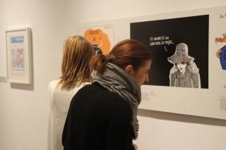 La exposición sobre humor gráfico 'Sátiras de papel' se traslada al Ayuntamiento de Sevilla