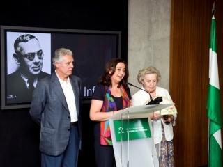 La Consejera de la Presidencia en el acto de Homenaje a Blas Infante.