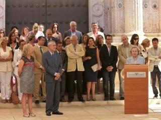 Acto en el Parlamento de Andalucía