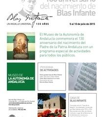 Conmemoración del 130 aniversario del nacimiento de Blas Infante