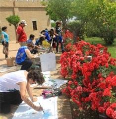 40 personas participan en el taller de creación artística organizado con motivo del Día Internacional de los Museos