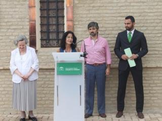 El Ayuntamiento de Coria del Río celebra un homenaje a Blas Infante en la Casa de la Alegría