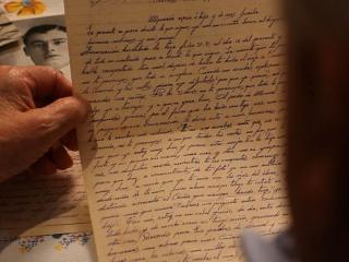 Fotograma del documental 'Memoria de las cenizas. Andaluces en los campos nazis'
