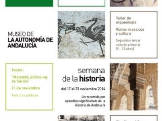 800 escolares participan en la I edición de la Semana de la Historia en el Museo de la Autonomía de Andalucía