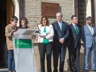 Susana Díaz preside en el Museo de la Autonomía el décimo aniversario de la reforma del Estatuto