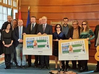 El cupón de la ONCE iza la bandera de Andalucía