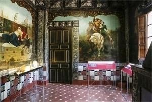 Sala de los frescos