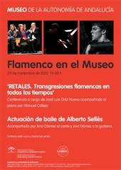 El Museo de la Autonomía de Andalucía celebra un nuevo espectáculo del ciclo 'Flamenco en el Museo'