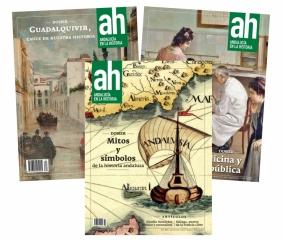Ya están disponibles para su libre descarga tres nuevos números de la revista Andalucía en la Historia