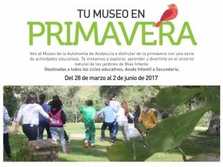 'Tu Museo en primavera', nueva propuesta educativa para centros escolares