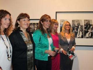 La consejera de la Presidencia e Igualdad inaugura la nueva exposición temporal sobre flamenco