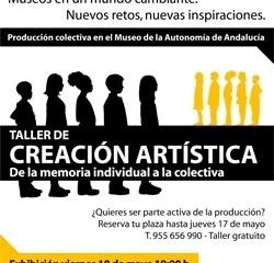 El Museo de la Autonomía propone un taller de creación artística para celebrar el Día Internacional de los Museos