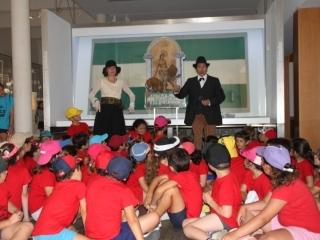 Teatro infantil en el Museo de la Autonomía para conmemorar el nacimiento de Blas Infante y el centenario de la bandera y el escudo
