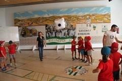 Cerca de 900 niños han participado en las actividades de verano y en la Semana de Blas Infante
