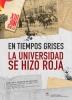 Cartel de la Exposición de la subversión universitaria en Mayo del 68
